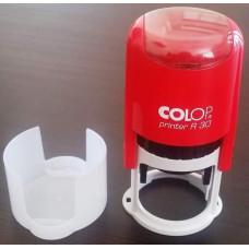 Печать для врача Colop R30 красная