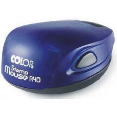 Печать COLOP R40 mouse синяя