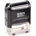 Штамп GRM-4911 (38х14)