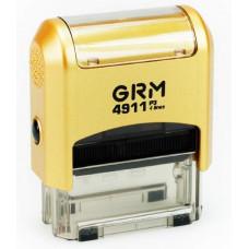 Изготовление штампа GRM-4911 (38х14) gold