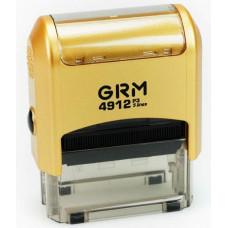 Изготовление штампа GRM-4912 (47х18) gold