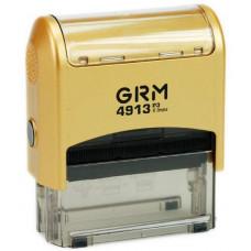 Изготовление штампа GRM-4913 (58х22) gold
