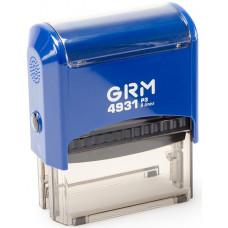 Изготовление штампа GRM-4931 (70х30)