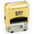 Штамп GRM-4911 (38х14) GOLD
